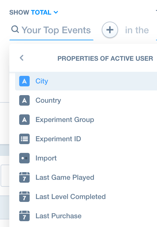 Properties: Supported Data Types – Mixpanel Help Center